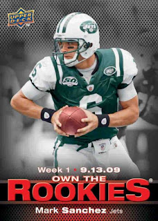 Upper Deck NFL 2009 – Own the Rookies | Canada Card World