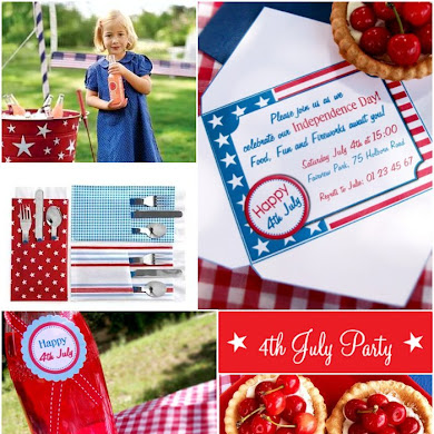 4th July Party Celebrations | Patriotic Inspiration Board