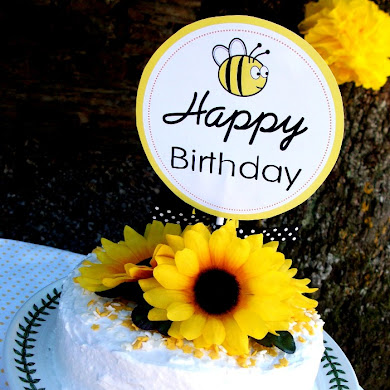 Honey Bee-Day Inspired Birthday Party