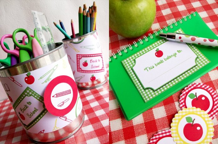 FREE Apple Themed Back to School Party Printables - BirdsParty.com