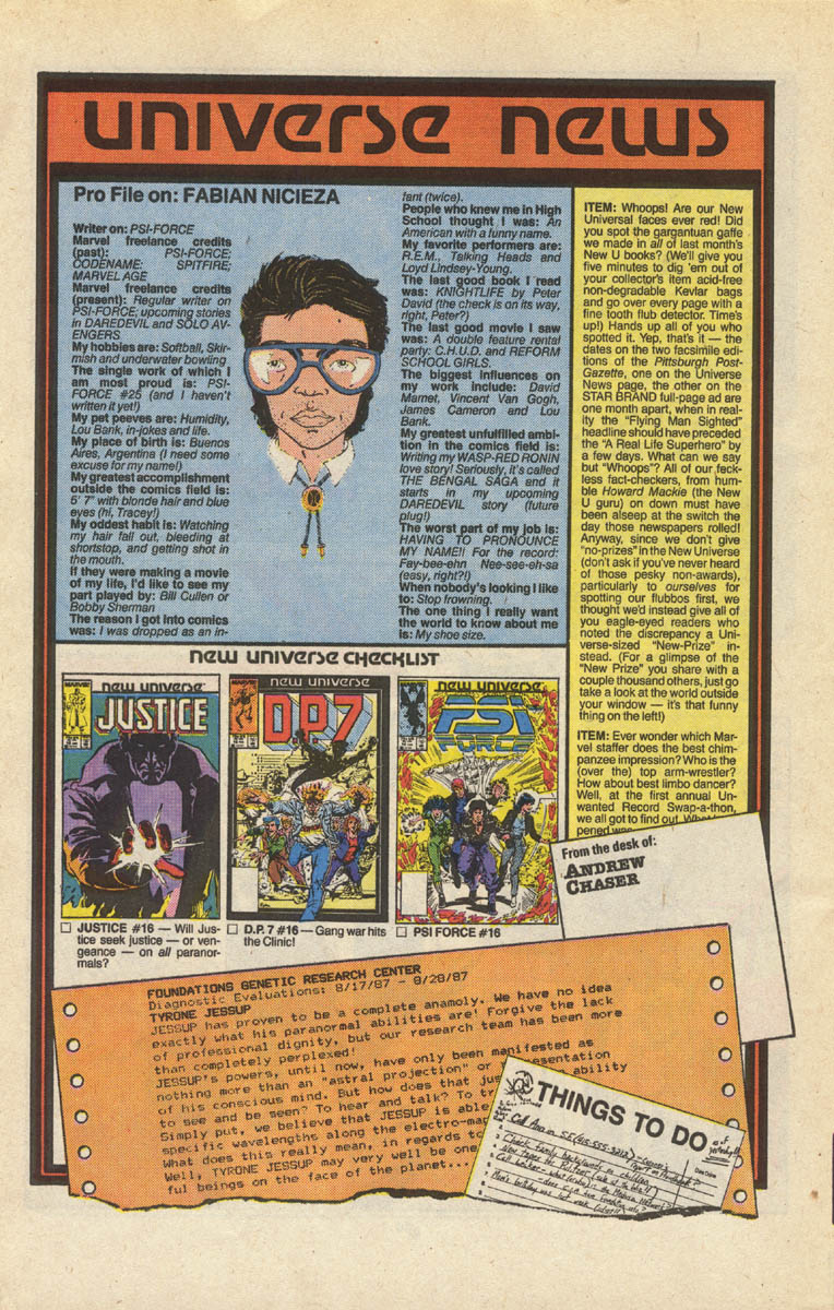 Read online Justice (1986) comic -  Issue #16 - 21