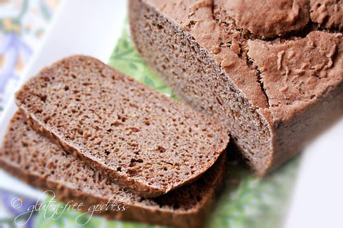 Delicious gluten free rye bread or ryeless rye as we call it