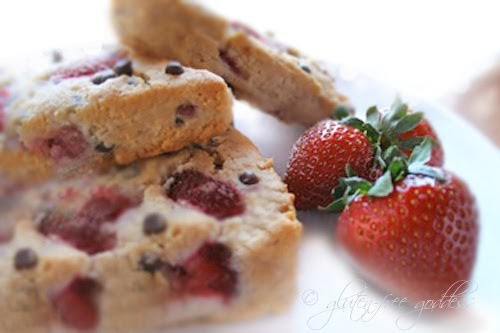 ... Goddess Recipes: Strawberry Chocolate Chip Scones- Gluten-Free Recipe