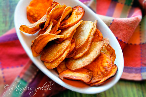 How to make your own gluten free potato chips