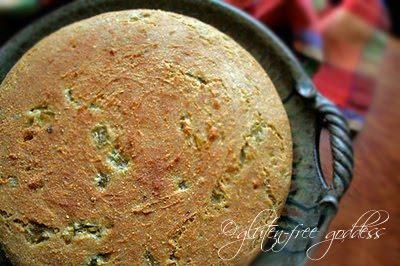 Gluten-Free Pueblo Bread with Green Chiles