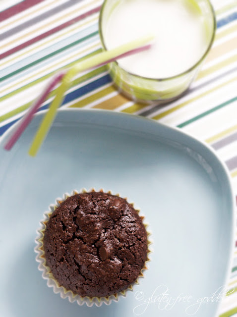 Gluten free brownie cupcakes made with Namaste baking mix