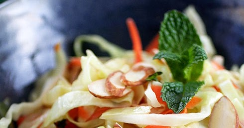 Coleslaw with Chili-Lime Dressing | Gluten-Free Goddess ...