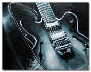 Guitar, the Blues