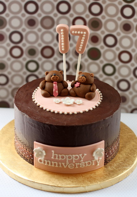 Designer birthday cakes with candles