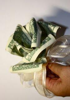 Origami Money Flowers - photo#12