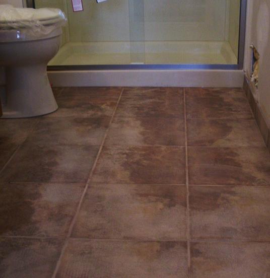 Porcelain Bathroom Floor Tiles: Kitchens & Baths By D'Zyne: Bathroom Floor Tile Adventures