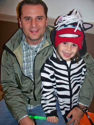 Lilly & Daddy before Trick or Treating