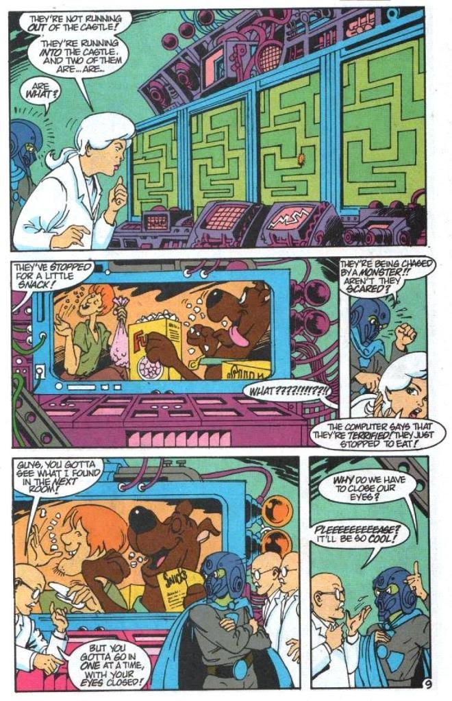 Read online Scooby-Doo (1995) comic -  Issue #5 - 10