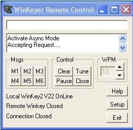 Software Defined Ham Radio: WK remote