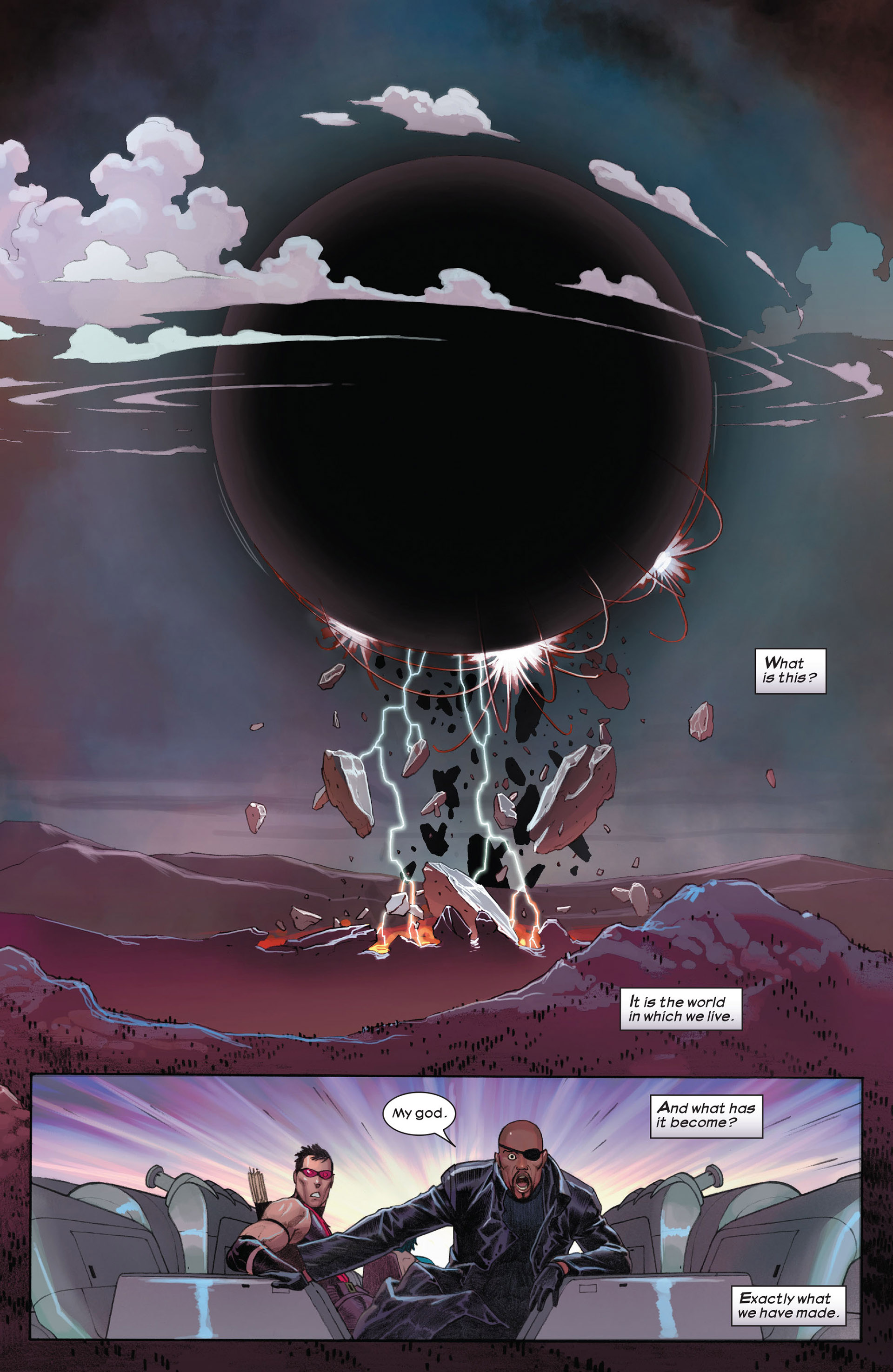 Read online Ultimate Comics Ultimates comic -  Issue #9 - 14