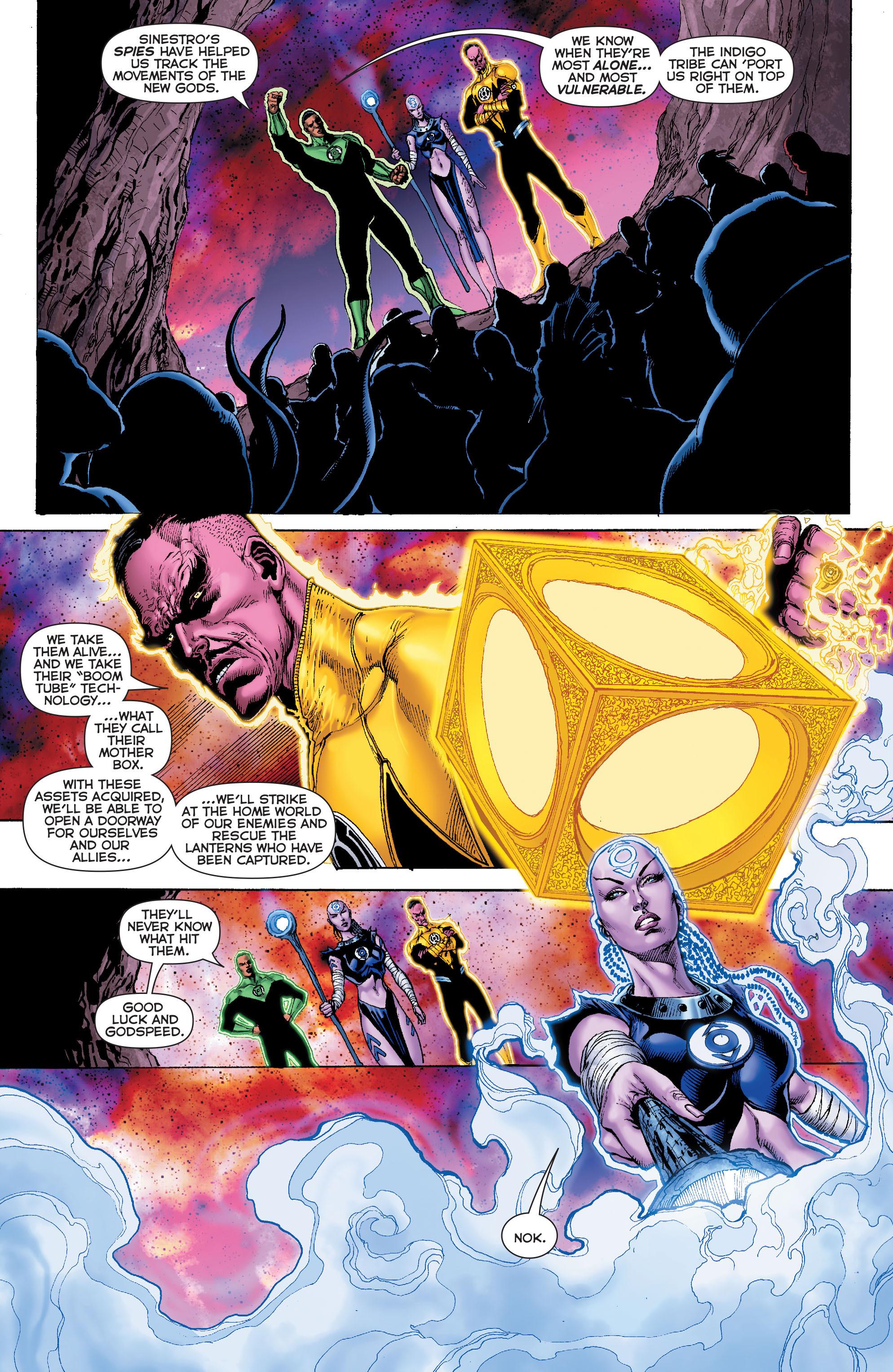 Read online Sinestro comic -  Issue #7 - 19