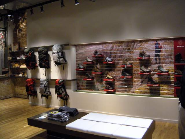 Insurgent Scouting New Wenger Store Opens It S Not About