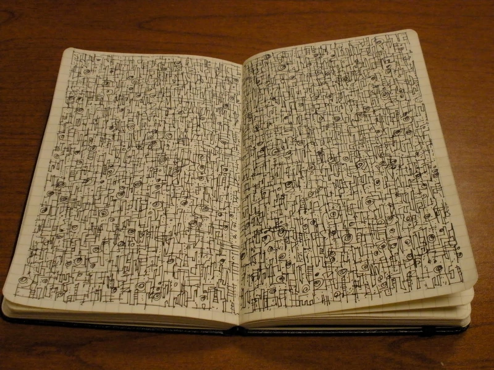 turning pages: What is in your Moleskine?