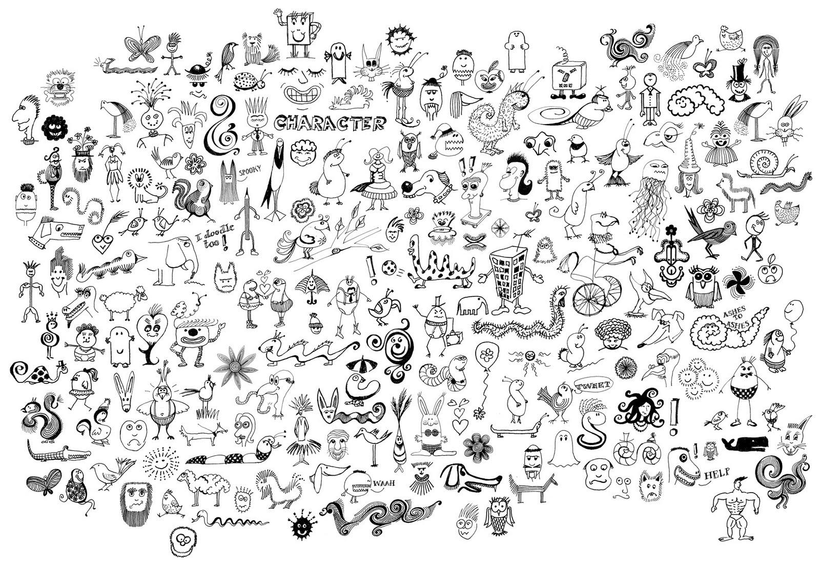 Doodle S: Groovy Doodling On Pinterest