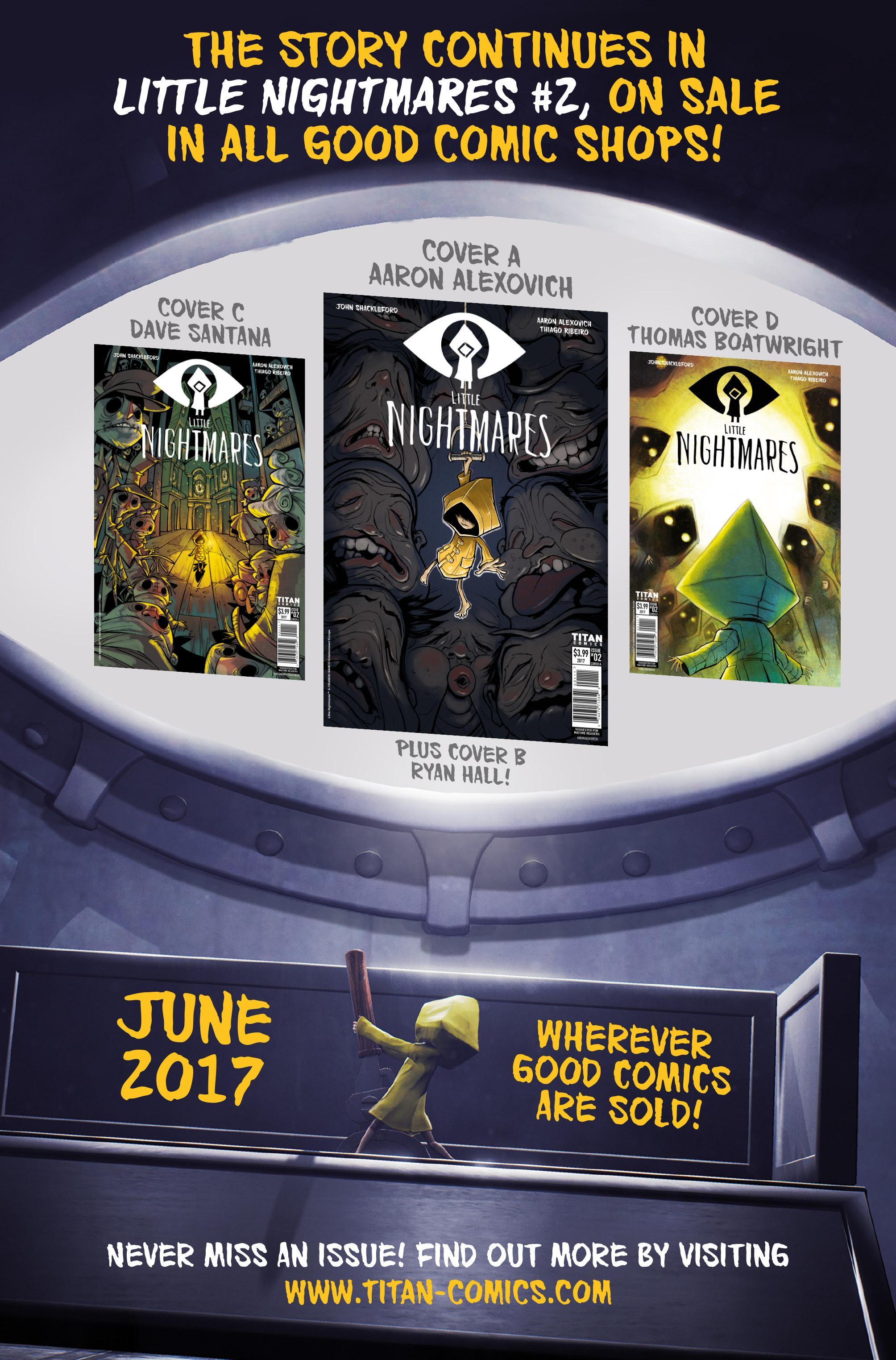 Read online Little Nightmares comic -  Issue #1 - 28