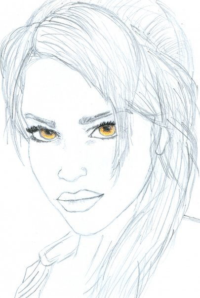 Lara Croft ~Tomb Raider: Moje Rysunki