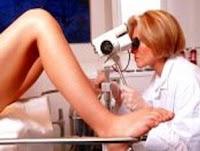 diagnosa kanker serviks