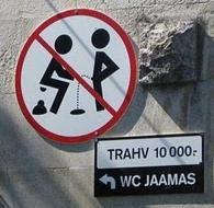 Os sinais de proibição mais bizarros 26
