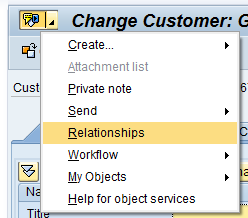 Generic Object Services (GOS) Toolbar Part 7 : Relationship