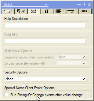 Trigger onChange immediately for checkboxes, radiobuttons and