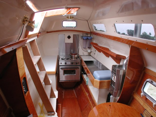 The Boat: Cool Galley