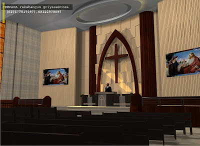 Desain Gereja Kristen Immanuel Surakarta