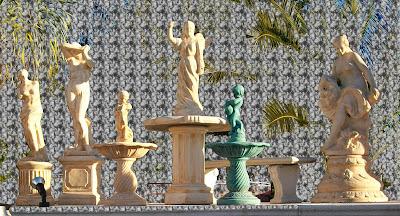 Estatuas de cemento - Estatuas de jardin ...