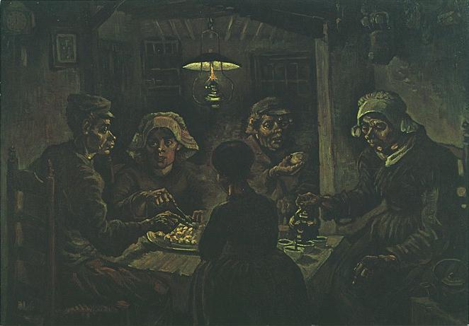 Línea Serpentinata: Vincent Van Gogh (2): Holanda, 1880-1885