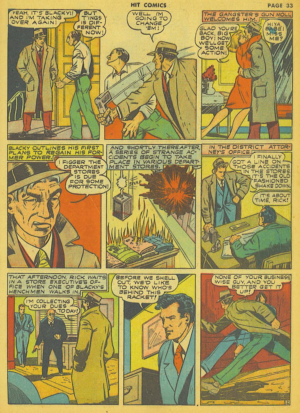 Read online Hit Comics comic -  Issue #21 - 35