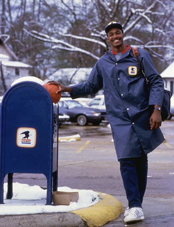I'm forever blowing bubbles!: Karl 'The Mailman' Malone