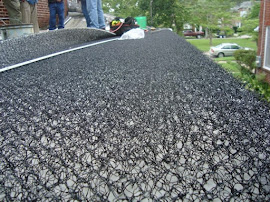 Green Roof Mat Installation
