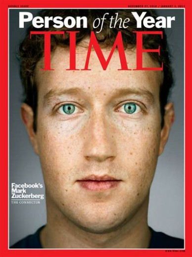 Milpitas VESL: Facebook creator is Time Person of the Year