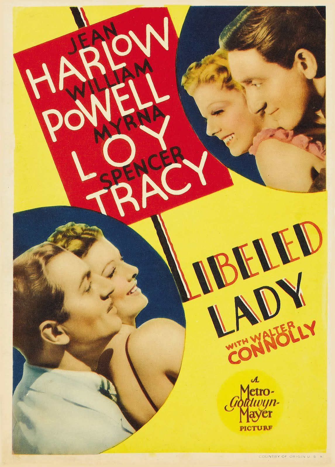 Libeled Lady movie