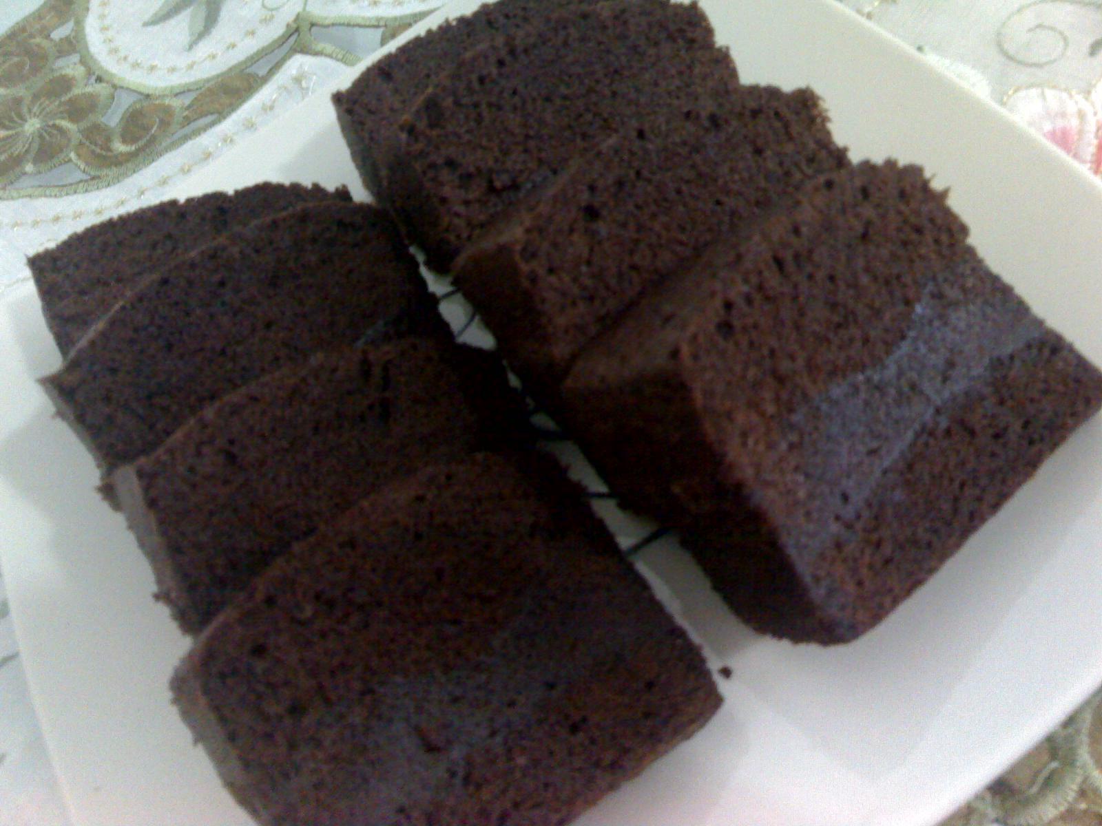 Resep Cake Kukus Lumer: Sip Dong!: Resep: Brownies Kukus Ala Amanda