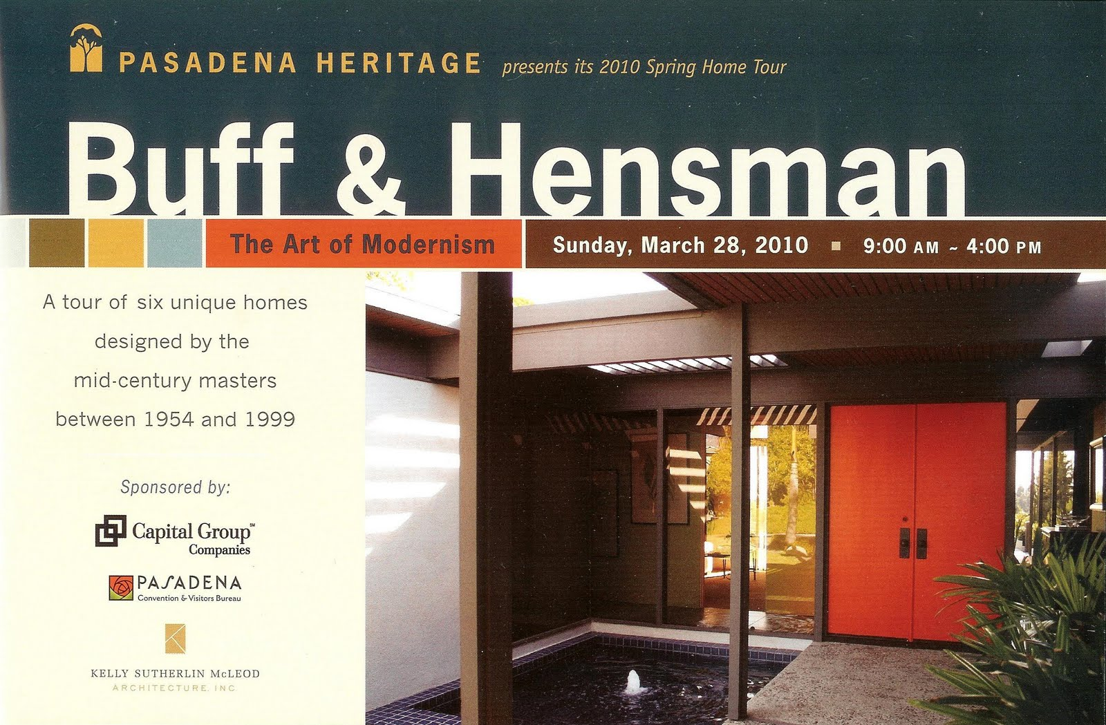 Tour Brochure for Buff u0026 Hensman The