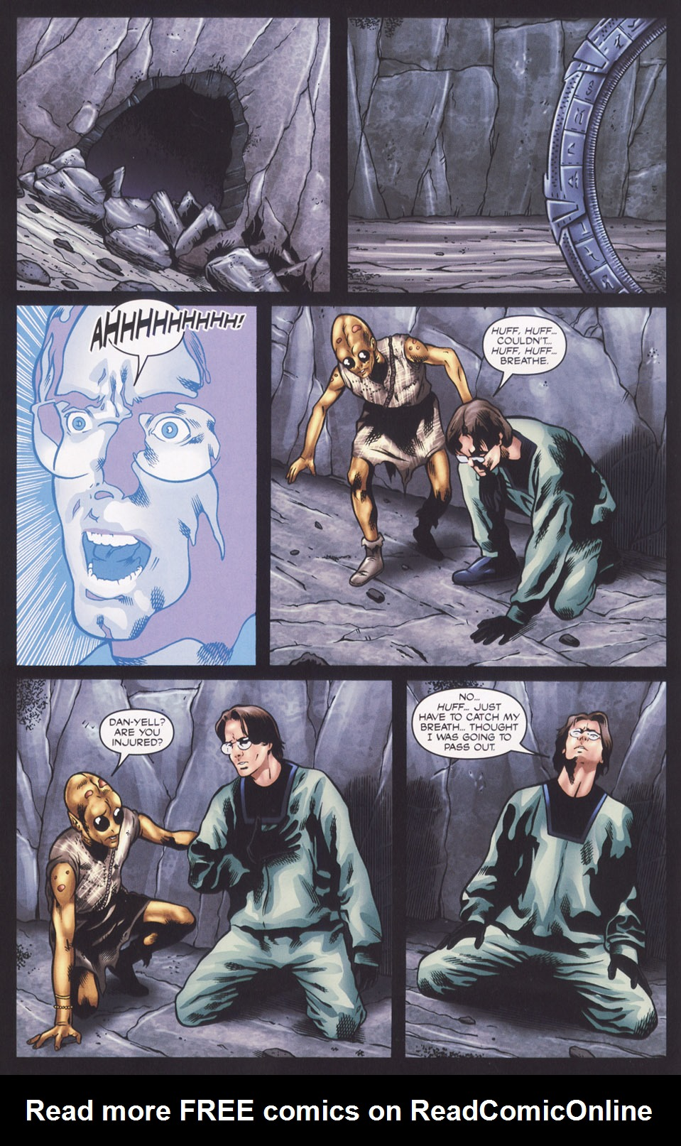 Read online Stargate SG-1: Fall of Rome comic -  Issue #2 - 6