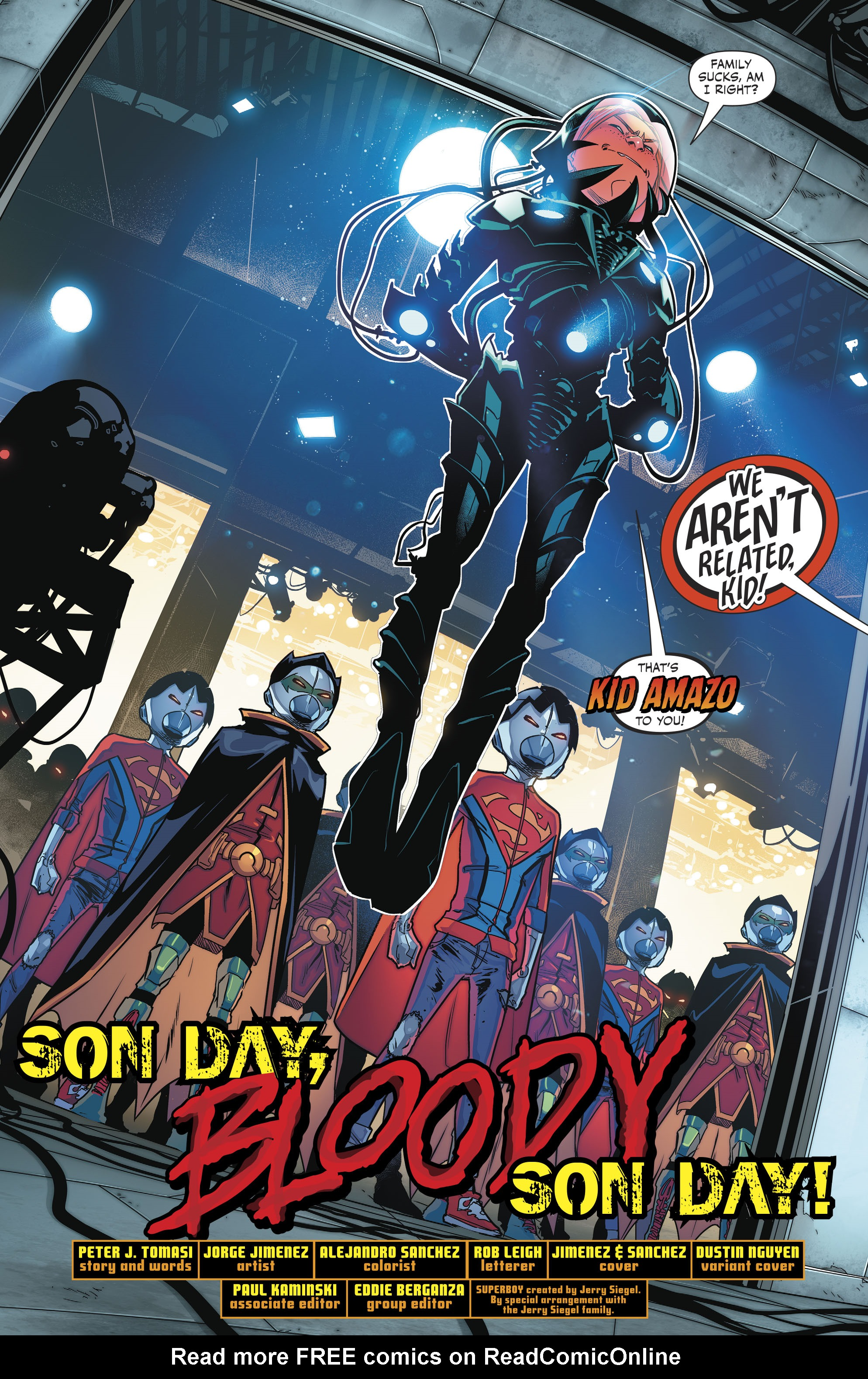 Read online Super Sons comic -  Issue #4 - 5