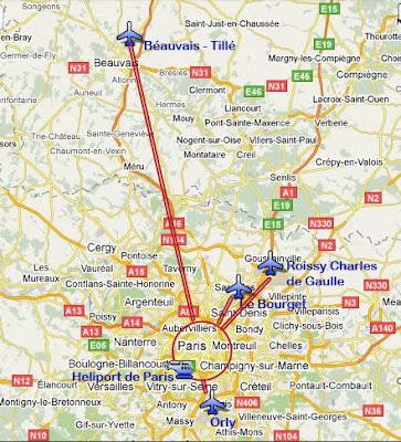 Parigi Cartina Aeroporti.Parigi Ti Consiglia Arrivare A Parigi Aeroporti