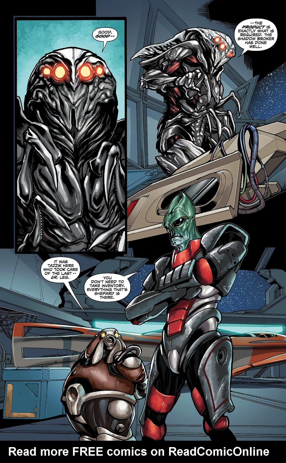 Mass Effect: Redemption Issue #4 #4 - English 11
