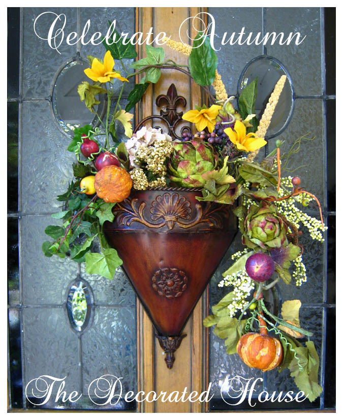 The Decorated House: ~ Revisting a Front Door Basket ...