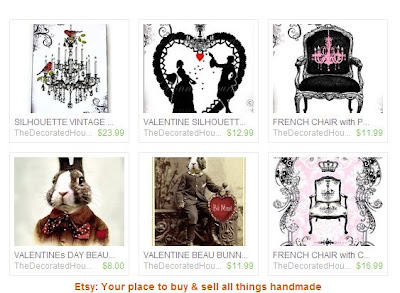 Art Prints ~ The Decorated House on Etsy
