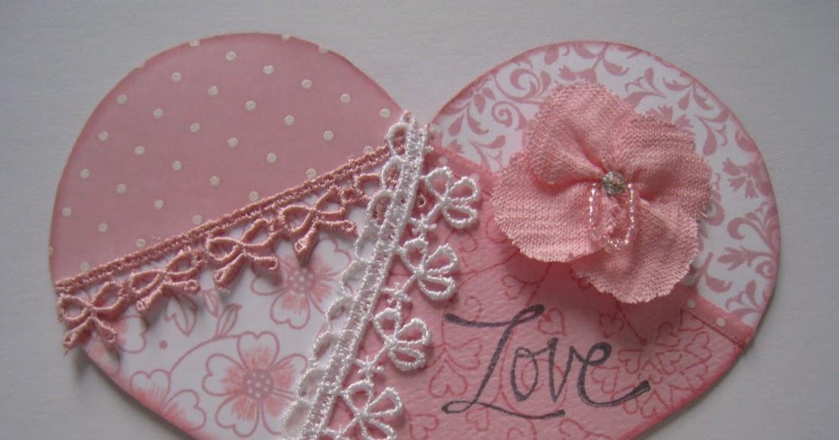 Hero Arts Clear Design Heart Flowers