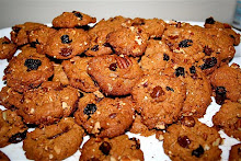Homemade granola and Trail mix cookies