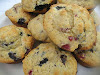 Mixed Berry Cornmeal Muffins
