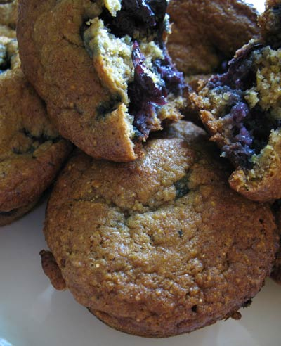 Blueberry Goat Cheese Muffins